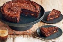 """Chocolate Orange Brownie Tar"", Home made"