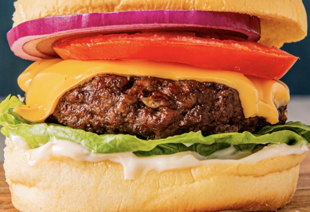Air Fryer Cheeseburgers