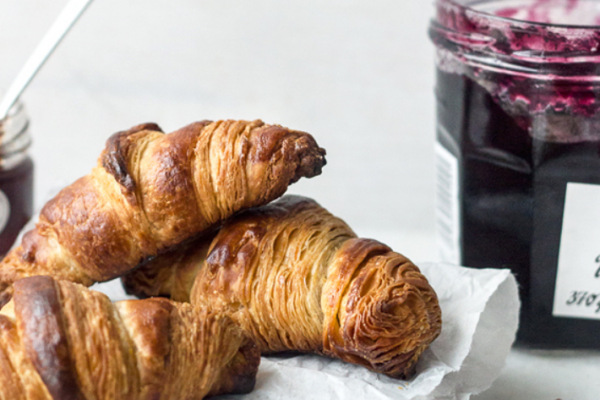 How to make croissants step by step